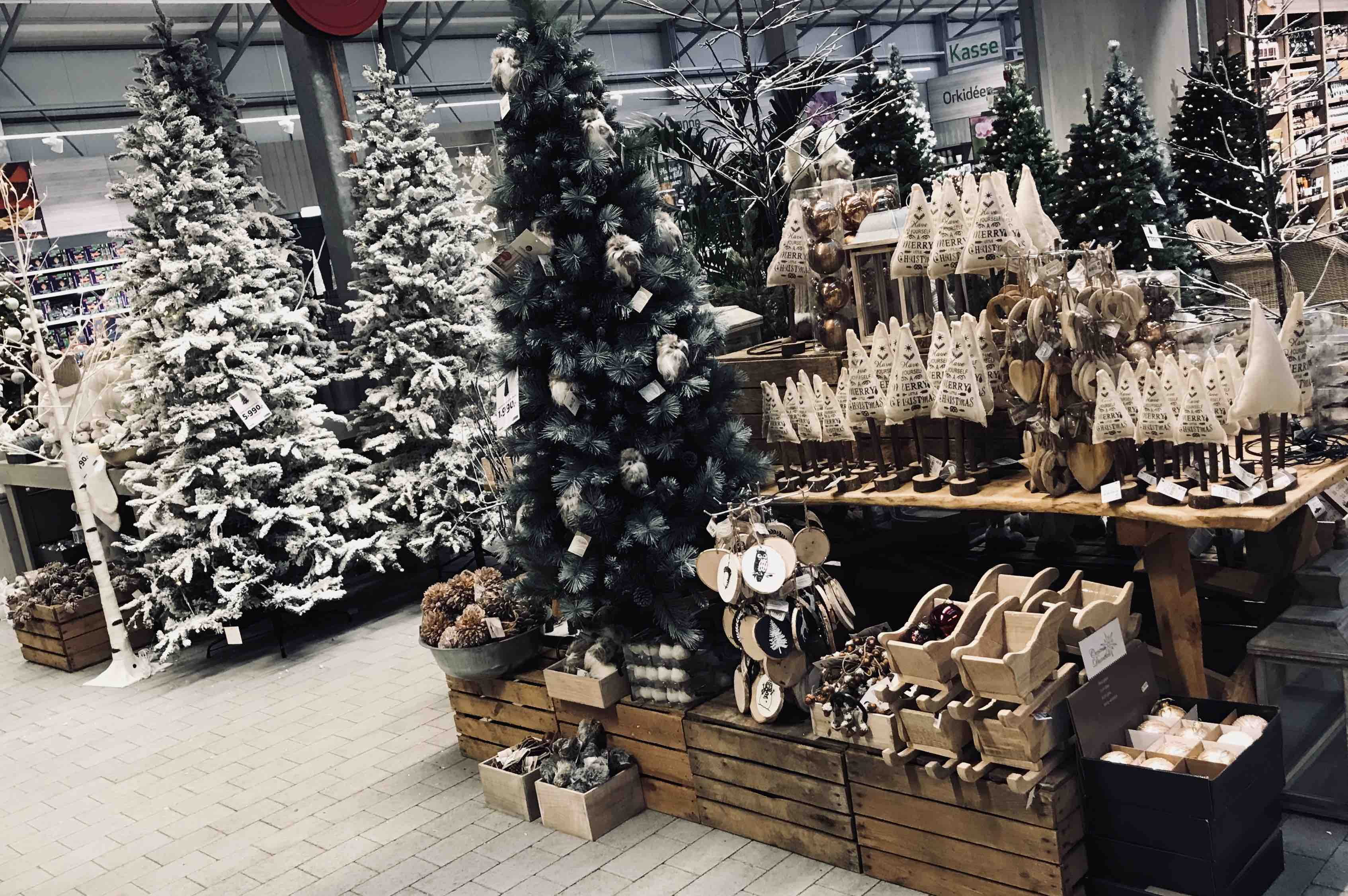 naturtro kunstig juletre